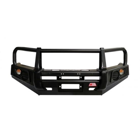 MCC Classic Black Bullbar Including Underbody Plates (Ford PX Ranger)