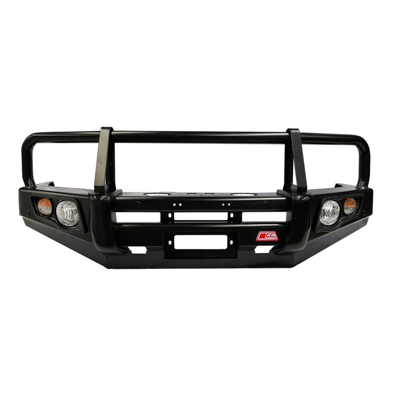 Mcc falcon black bullbar inc fog lights mazda bravo 1999 2007 mcc falcon black bullbar including underbody plates aloadofball Image collections