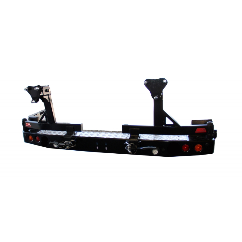 Mcc Rear Bar  Optional Wheel Carriers  Jerry Can Holders   Toyota Landcruiser 200 Series 2015 On