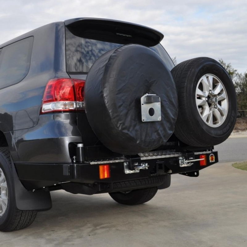Outback Accessories Rear Bar  Optional Wheel Carriers  Jerry Can Holders   Toyota Landcruiser 200