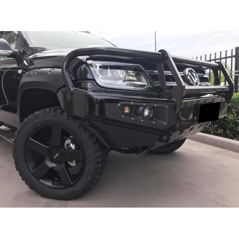 afn 4x4 front bullbar vw amarok 2010 on complete with winch mount and fog light inserts fit. Black Bedroom Furniture Sets. Home Design Ideas