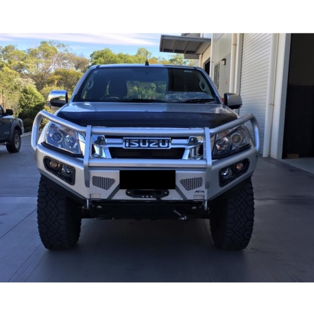 Afn 4x4 front bullbar isuzu d max 2nd generation from 2012 on afn 4x4 front bullbar isuzu d max 2nd generation from 2012 on complete with winch mount and fog light inserts fit my 4wd brought to you by no limits aloadofball Gallery