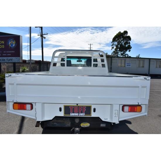 Tuff Steel Custom Tray Dual Cab Ute
