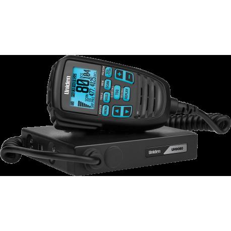 Uniden UH9080 Mini Compact UHF CB Mobile with Remote Speaker