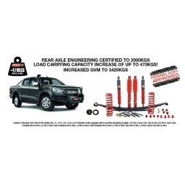 Pedders GVM Upgrade Kit (Ford PX2 Ranger) Pre Rego Only