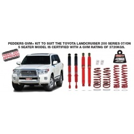 Pedders GVM Upgrade Kit (Ford PX2 Ranger) Pre Rego Only