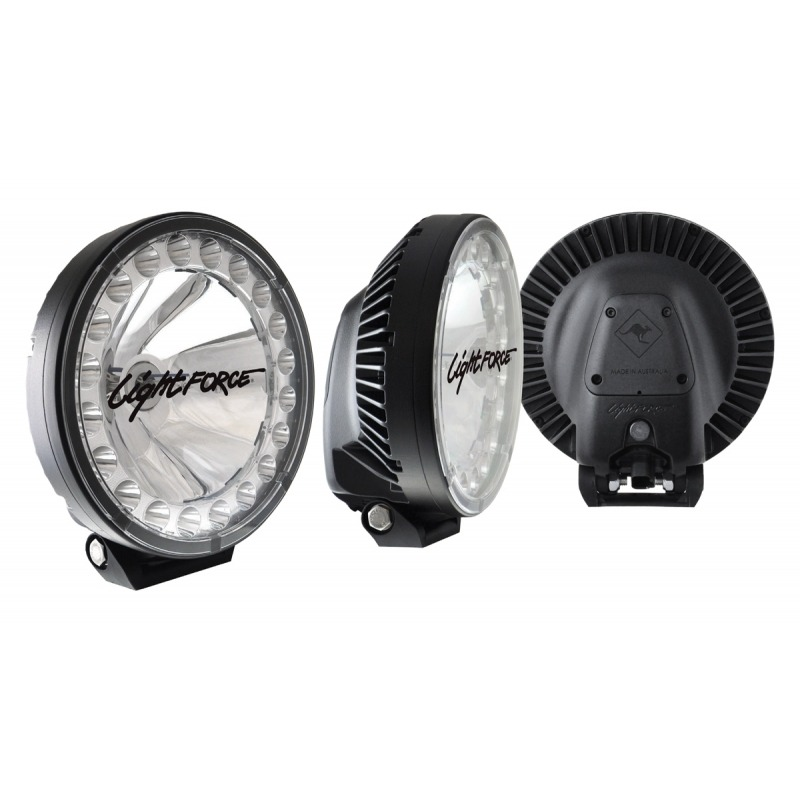 Lightforce HTX 230MM Hybrid Technology Xtreme LED / HID Driving Light (Pair)
