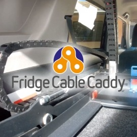 Fridge Cable Caddy (Clearview Easy Slide 100 Plus)