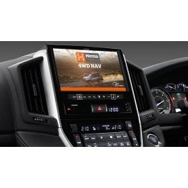 """Alpine X902D 9"""" Navigation System with Hema suitable for Toyota LandCruiser 200 Series"""