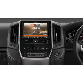"""Alpine X802D 8"""" Navigation System with Hema suitable for Toyota LandCruiser 200 Series"""