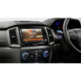 """Alpine X802D 8"""" Navigation System with Hema suitable for Ford Ranger PX2 & PX3 2015 on"""
