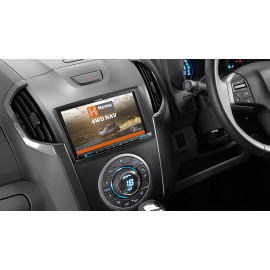 """Alpine X802D 8"""" Navigation System with Hema suitable for Holden Colorado RG 2012-2014"""