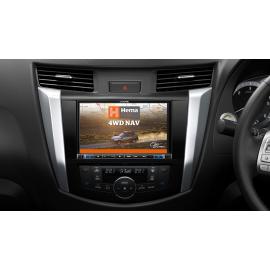 "Alpine X802D 8"" Navigation System with Hema suitable for Nissan Navara NP300 2015-2019"