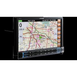 "Alpine X802D 8"" Navigation System with Hema suitable for Volkswagen Amarok"