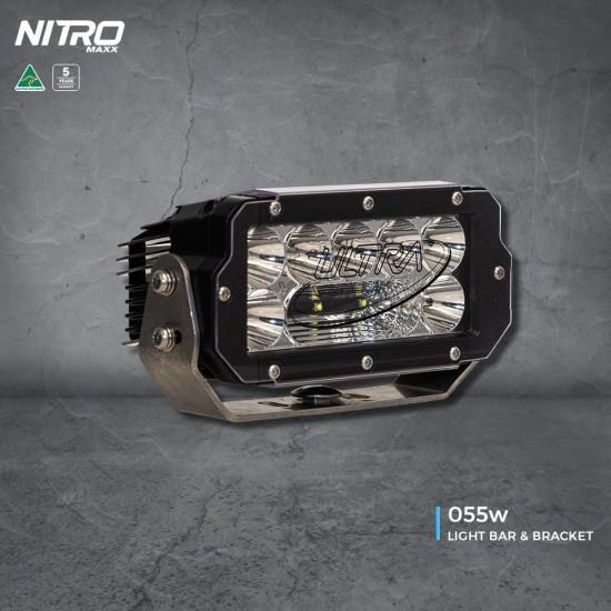 Ultravision NITRO Maxx 55W 8″ LED Light bar