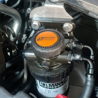 Fitting our Direction Plus Pre Filter and Catch Can is a easy way to protect your engine from bad fuel, corrosion and engine muck. This BT50 is now protected for what the next fuel station has to offer.   Diesel Distributors Australia #getfitted #fitmy4wd