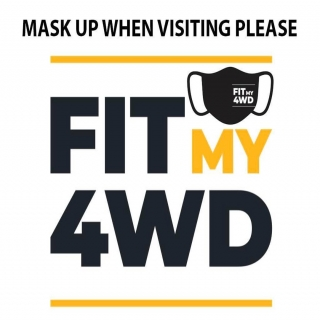 As the Premier announced today the our 7 day stay at home orders end at 12:01am tomorrow morning. This is awesome news as we are now back open to full capacity of work.  When visiting our store we would advise that all customers and staff must be wearing a mask. If you would like a COVID safe drop off, please park your vehicle out the front and call us from the front door. We will then instruct you how to proceed from there. If you wish to come in please scan the QR code and check in and mask up.   Thank you  Fit My 4WD management