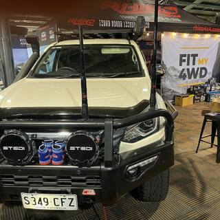 Looking for protection for your next 4x4, we have MCC on display and on discounted all weekend. Come down to the stand W5 and talk to the Fit My 4WD Team to secure your discount this weekend.   We have all there Front Bars, Rear Bars, Side steps and New Recovery Points on display until Sunday.   @mcc4x4