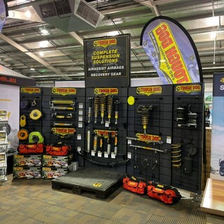 Buying a new car and want to upgrade your suspension or get a GVM to know your weights are safe, head down to the Adelaide 4x4 show and see the team on stand W5 in the Wayville Pavilion. We have you covered with the experience, knowledge & products to help you out. Plus Toughdog Suspension is on discount all weekend Long  Tough Dog Suspension Adelaide 4WD and Adventure Show