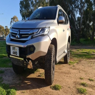 The nicest looking no hoop bar for the Pajero Sport on the market. The Rhino 4x4 bar is just absolutely gorgeous, this car will for sure turn heads.   Rhino 4X4 Australia #fitmy4wd #getfitted