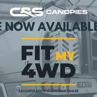We are proud to announce our partnership as the exclusive C&S Canopies South Australian distributor! We see this as a great opportunity for both C&S Canopies and Fit My 4WD. If you are based in SA and are looking to fit out your 4WD, these guys build the canopy and tray that you want and need for your work ute or Tourer.   Feel free to call the team at either Fit My 4WD or C&S Canopies today to discuss your next build.  Fit My 4WD (08) 8354 3349 sales@fitmy4wd.com.au 33 Sir Donald Bradman Dr, Mile End SA 5031  C&S Canopies (02) 6760 7464 info@candscanopies.com.au 13 Armstrong Street, Tamworth NSW 2340  C&S Canopies #fitmy4wd #getfitted