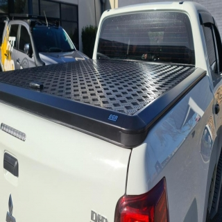 Slick easy Ute storage security with the EGR Load Shield  EGR Auto #fitmy4wd #getfitted