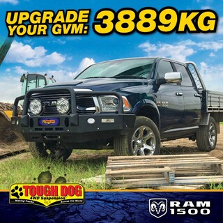Calling all Dodge Ram 1500 Owners  We have the weight solution for you, the Tough Dog 3889kg GVM upgrade  Call or email to book in for your GVM Upgrade Now!  08 8354 3349 Sales@fitmy4wd.com.au